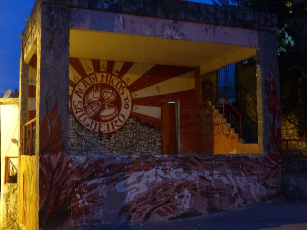 Palco do Samba em cima do Morro do Salgueiro (Rio de Janeiro)